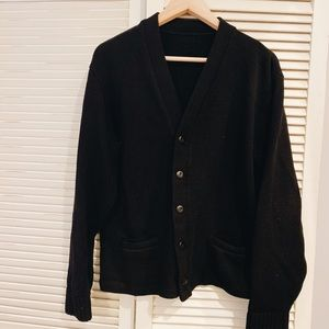 Vintage black cardigan